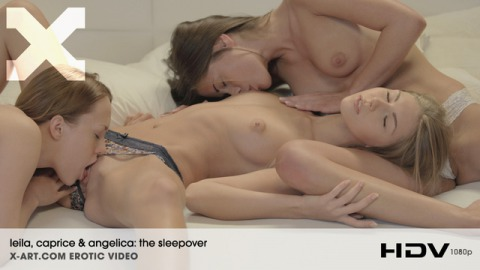 Leila, Caprice & Angelica: The Sleepover